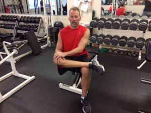 external hip rotation to prevent back pain